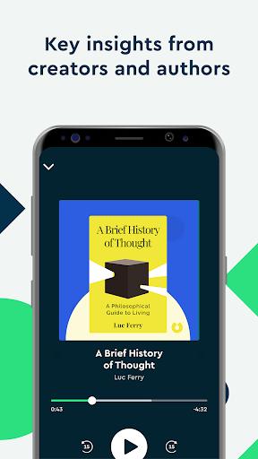 Blinkist: Key Book Insightu202as android2mod screenshots 3