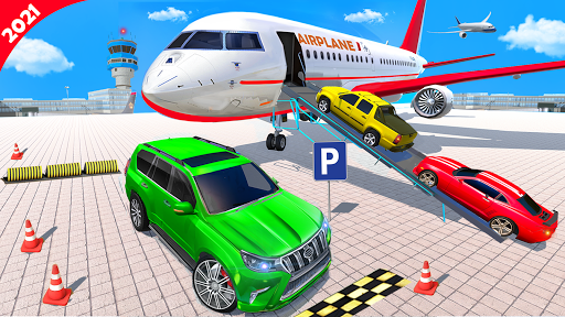 Airplane Car Parking Game: Prado Car Driving Games 2.0 screenshots 9