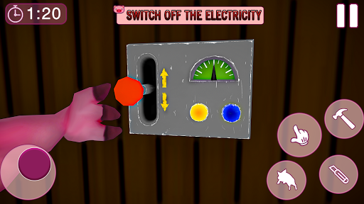 Piggy Family 3D: Scary Neighbor Obby House Escape apkpoly screenshots 13