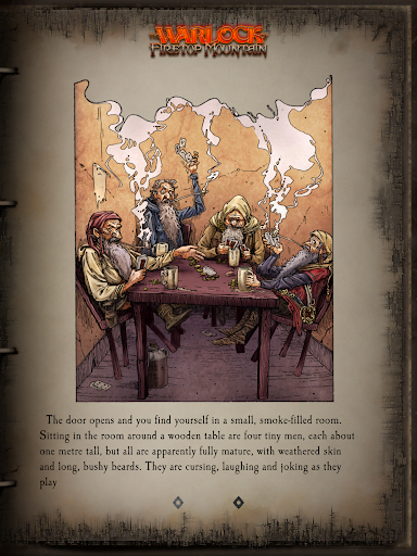 Fighting Fantasy Classics u2013 text based story game apkdebit screenshots 9