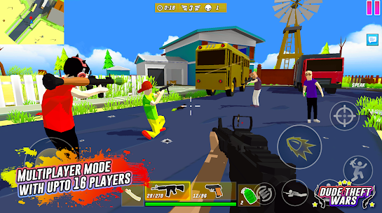 Dude Theft Wars Mod Apk Download (Unlimited Money/Free Shopping) 10