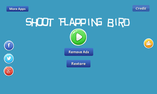 Shoot Flapping Bird - flappy Screenshot