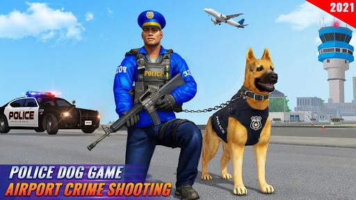Police Dog Airport Crime Chase : Dog Games 3.8 Screenshots 5