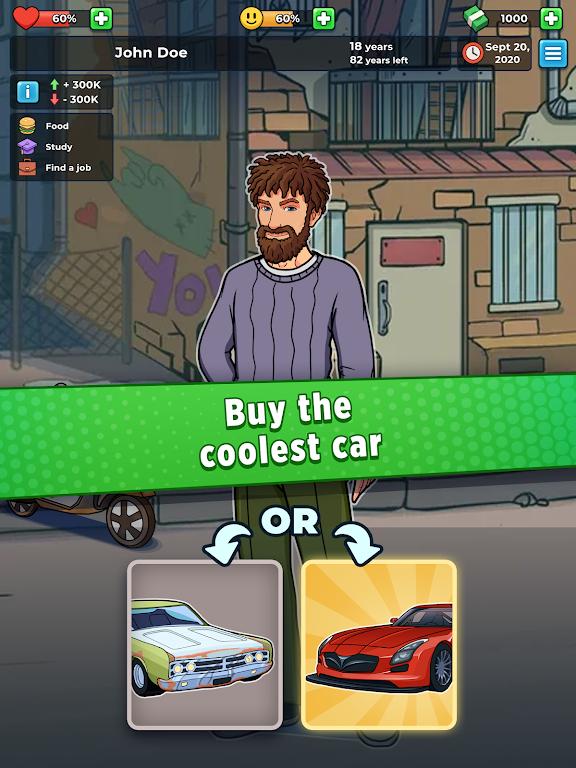 Hobo Life: Business Simulator & Money Clicker Game poster 9