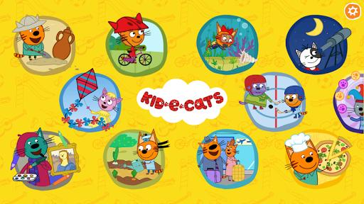 Kid-E-Cats. Educational Games  screenshots 9