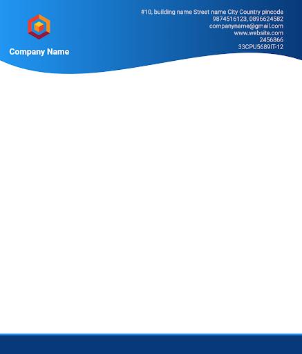 Letterhead Maker Business letter pad template Logo 1.7 Screenshots 13