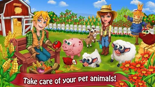 Farm Day Village Farming  Offline Games Apk 2