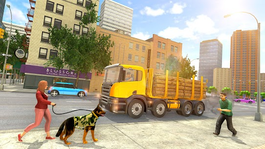 Tractor Trolley Drive Offroad Cargo: Tractor Games 4