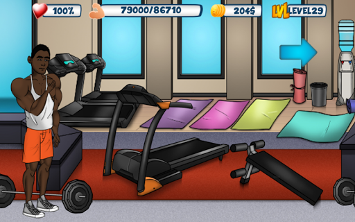Iron Muscle 2 - Bodybuilding and Fitness game  screenshots 4