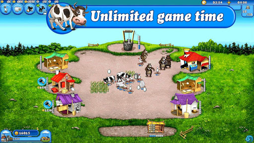 Farm Frenzy Free: Time management games offline 🌻 modiapk screenshots 1