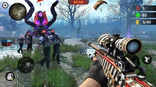 Zombie 3D Gun Shooter- Fun Free FPS Shooting Game 1.2.5 Screenshots 4