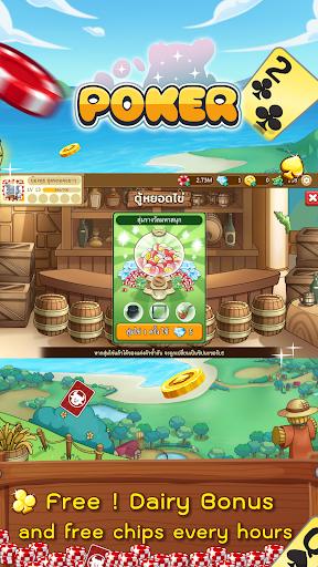 Dummy & Toon Poker Texas slot Online Card Game  Screenshots 6