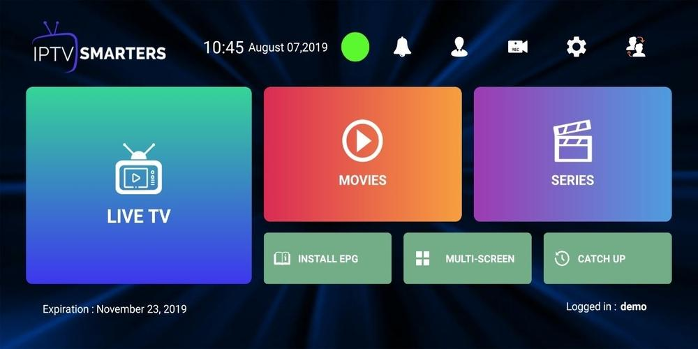 IPTV Smarters Pro screenshot 1