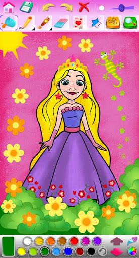 Princess Coloring Game screenshots 17