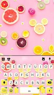 Fruity Messenger Keyboard Theme 5