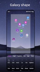 NewLook Launcher – Galaxy star map launcher, new 3