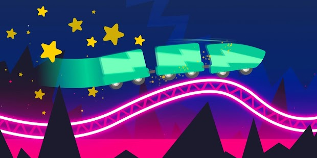 Rollercoaster Dash - Rush and Jump the Train Screenshot