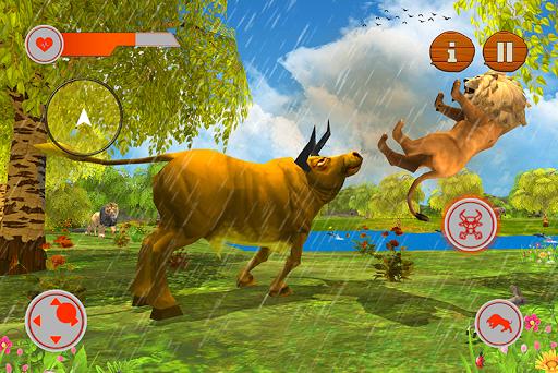 Wild Bull Family Survival Sim apkpoly screenshots 3