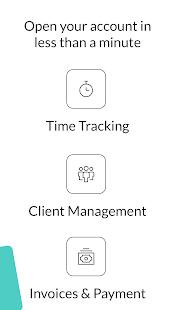 Freework - Timesheet, Time Card, Time Tracking