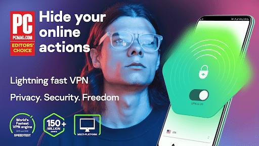 Fast Free VPN u2013 Kaspersky Secure Connection apktram screenshots 1