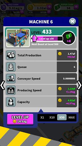 Idle Super Factory 1.0.7 screenshots 15