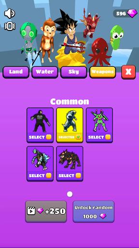 Kaiju Run 0.11.0 screenshots 2