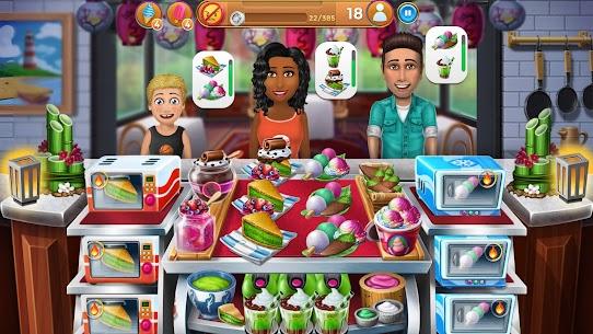 Virtual Families Mod Apk: Cook Off (Unlimited Hats) 4