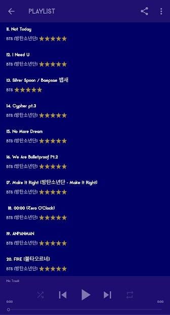BTS Mp3 Offline (Life Goes On) screenshot 4
