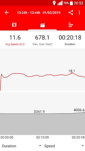 Cycling - Bike Tracker modavailable screenshots 3