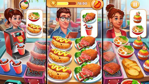 Code Triche Cooking Shop : Chef Restaurant Cooking Games 2020 (Astuce) APK MOD screenshots 1