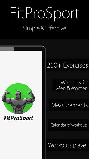 Fitness Trainer FitProSport 4.86 FREE Screenshots 1
