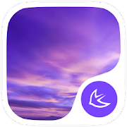 Purple Sky-APUS Launcher theme