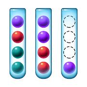Sort Color Balls - puzzle game