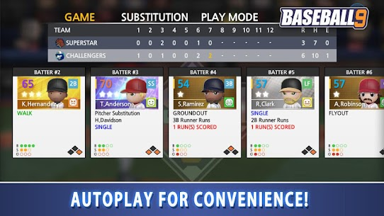 BASEBALL 9 1.5.7 MOD APK [INFINITE COIN/ENERGY] 5