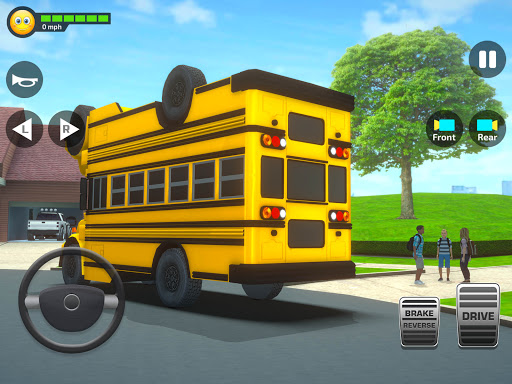 Super High School Bus Simulator und Auto Spiele 3D 2.7 screenshots 10