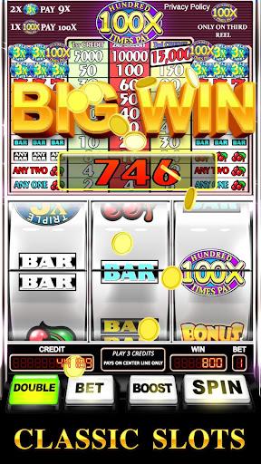 Slot Machine: Triple Hundred Times Pay Free Slot  screenshots 1
