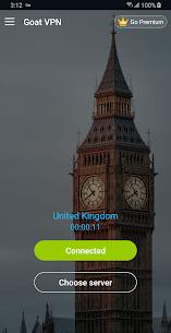 Goat VPN Mod Apk (VIP Activated) Unlimited Secure VPN 4