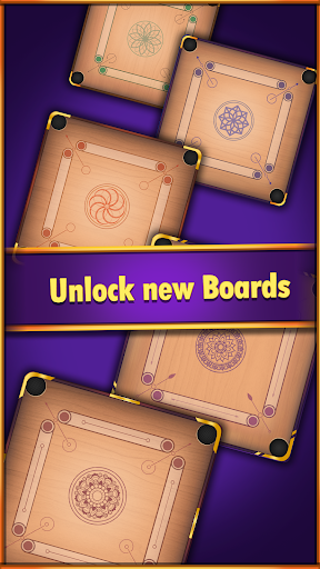 Carrom World : Online & Offline carrom board game apkslow screenshots 5