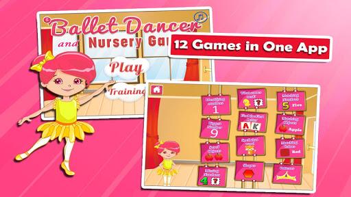 Ballerina Kindergarten Games screenshots apkspray 1