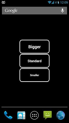Big Font Widget ss2