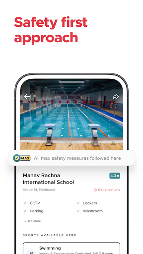 Fitso by Zomato: Badminton, Swimming, Tennis, Gym android2mod screenshots 6