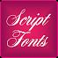 Fonts Script for FlipFont Free