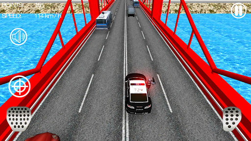 Police Car Racer 3D 12 screenshots 4