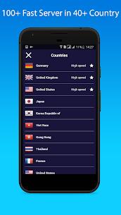 Easy VPN v1.1.4 MOD APK – Free VPN Proxy & Wi-Fi Security 2