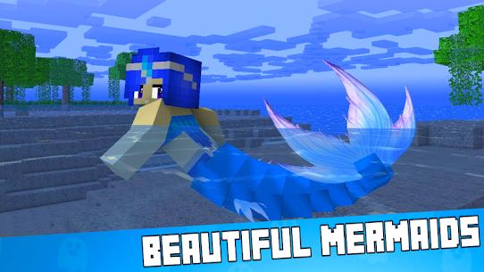 Mermaid Mod for MCPE 1
