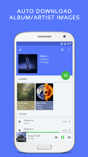 Pulsar Music Player - Mp3 Player, Audio Player 1.10.1 screenshots 4