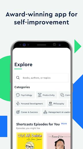Blinkist: Key Book Insightu202as android2mod screenshots 5
