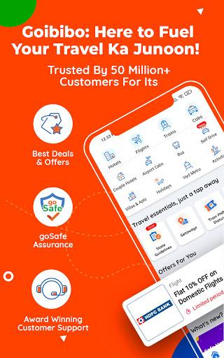 Goibibo Travel App-Hotel, Flight, IRCTC Train, Bus apktram screenshots 2