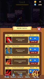 King Arthur MOD APK: Merge Idle RPG (Unlimited Money) 6