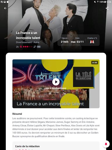 Programme TV par Tu00e9lu00e9 Loisirs : Guide TV & Actu TV apktram screenshots 11